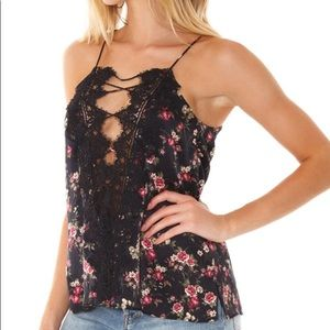 Cami nyc, floral cami, size small NWT